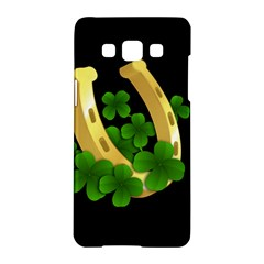 St  Patricks Day  Samsung Galaxy A5 Hardshell Case  by Valentinaart