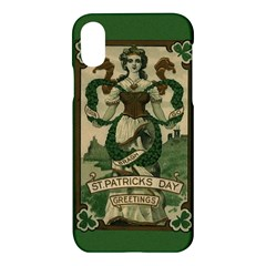 St  Patricks Day  Apple Iphone X Hardshell Case