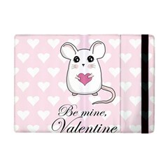 Cute Mouse   Valentines Day Apple Ipad Mini Flip Case by Valentinaart