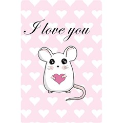Cute Mouse   Valentines Day 5 5  X 8 5  Notebooks by Valentinaart