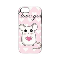 Cute Mouse   Valentines Day Apple Iphone 5 Classic Hardshell Case (pc+silicone) by Valentinaart