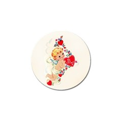 Cupid   Vintage Golf Ball Marker (10 Pack) by Valentinaart