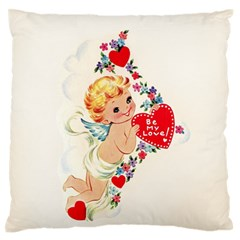 Cupid   Vintage Standard Flano Cushion Case (one Side) by Valentinaart