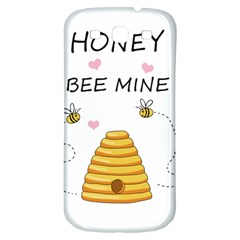 Bee Mine Valentines Day Samsung Galaxy S3 S Iii Classic Hardshell Back Case by Valentinaart