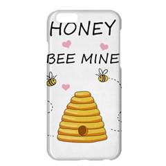 Bee Mine Valentines Day Apple Iphone 6 Plus/6s Plus Hardshell Case by Valentinaart