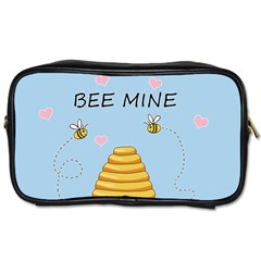 Bee Mine Valentines Day Toiletries Bags by Valentinaart