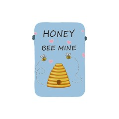 Bee Mine Valentines Day Apple Ipad Mini Protective Soft Cases by Valentinaart