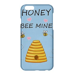 Bee Mine Valentines Day Apple Iphone 6 Plus/6s Plus Hardshell Case by Valentinaart