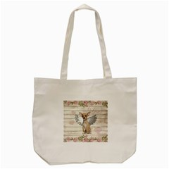 Vintage Chihuahua   Valentines Day Tote Bag (cream) by Valentinaart