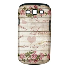 Vintage Chihuahua   Valentines Day Samsung Galaxy S Iii Classic Hardshell Case (pc+silicone) by Valentinaart