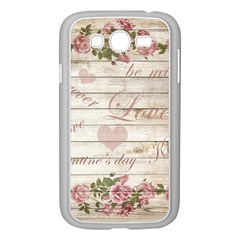 Vintage Chihuahua   Valentines Day Samsung Galaxy Grand Duos I9082 Case (white) by Valentinaart