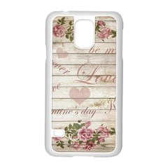 Vintage Chihuahua   Valentines Day Samsung Galaxy S5 Case (white) by Valentinaart