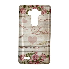 Vintage Chihuahua   Valentines Day Lg G4 Hardshell Case by Valentinaart