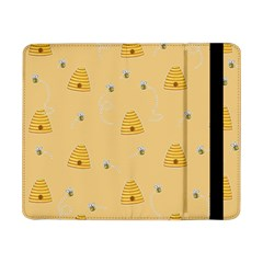 Bee Pattern Samsung Galaxy Tab Pro 8 4  Flip Case by Valentinaart
