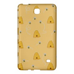 Bee Pattern Samsung Galaxy Tab 4 (8 ) Hardshell Case  by Valentinaart