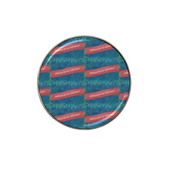 Valentine Day Pattern Hat Clip Ball Marker (10 Pack) by dflcprints