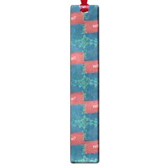Valentine Day Pattern Large Book Marks by dflcprints