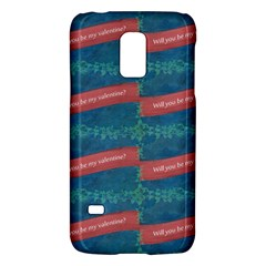 Valentine Day Pattern Galaxy S5 Mini by dflcprints
