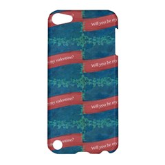 Valentine Day Pattern Apple Ipod Touch 5 Hardshell Case by dflcprints