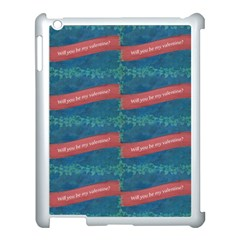 Valentine Day Pattern Apple Ipad 3/4 Case (white) by dflcprints