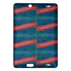 Valentine Day Pattern Amazon Kindle Fire Hd (2013) Hardshell Case by dflcprints