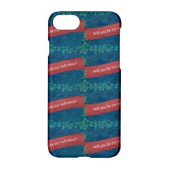 Valentine Day Pattern Apple Iphone 7 Hardshell Case by dflcprints
