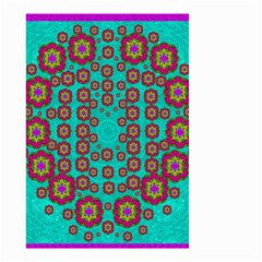 The Worlds Most Beautiful Flower Shower On The Sky Small Garden Flag (two Sides) by pepitasart