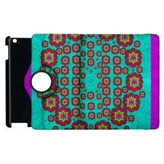 The Worlds Most Beautiful Flower Shower On The Sky Apple Ipad 2 Flip 360 Case by pepitasart