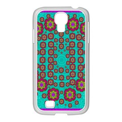 The Worlds Most Beautiful Flower Shower On The Sky Samsung Galaxy S4 I9500/ I9505 Case (white) by pepitasart