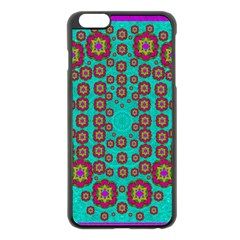 The Worlds Most Beautiful Flower Shower On The Sky Apple Iphone 6 Plus/6s Plus Black Enamel Case by pepitasart