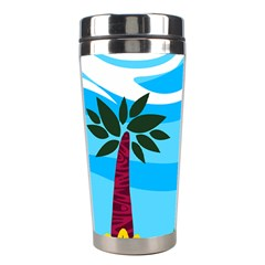 Landscape Background Nature Sky Stainless Steel Travel Tumblers