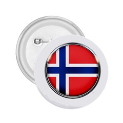 Norway Country Nation Blue Symbol 2 25  Buttons