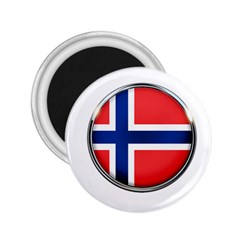 Norway Country Nation Blue Symbol 2 25  Magnets