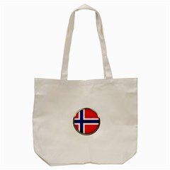 Norway Country Nation Blue Symbol Tote Bag (cream)