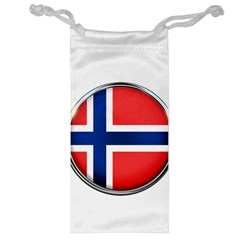 Norway Country Nation Blue Symbol Jewelry Bag