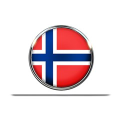 Norway Country Nation Blue Symbol Plate Mats