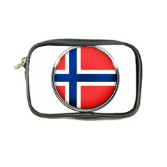 Norway Country Nation Blue Symbol Coin Purse