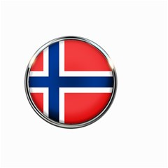 Norway Country Nation Blue Symbol Small Garden Flag (two Sides)