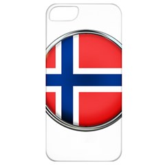 Norway Country Nation Blue Symbol Apple Iphone 5 Classic Hardshell Case