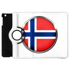 Norway Country Nation Blue Symbol Apple Ipad Mini Flip 360 Case