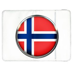 Norway Country Nation Blue Symbol Samsung Galaxy Tab 7  P1000 Flip Case