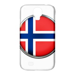 Norway Country Nation Blue Symbol Samsung Galaxy S4 Classic Hardshell Case (pc+silicone)