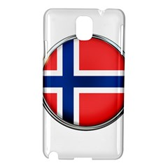Norway Country Nation Blue Symbol Samsung Galaxy Note 3 N9005 Hardshell Case
