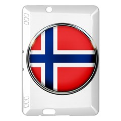 Norway Country Nation Blue Symbol Kindle Fire Hdx Hardshell Case