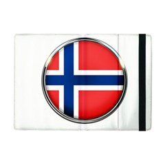 Norway Country Nation Blue Symbol Ipad Mini 2 Flip Cases