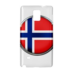 Norway Country Nation Blue Symbol Samsung Galaxy Note 4 Hardshell Case