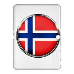 Norway Country Nation Blue Symbol Samsung Galaxy Tab 4 (10 1 ) Hardshell Case
