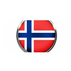 Norway Country Nation Blue Symbol Satin Wrap