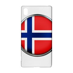 Norway Country Nation Blue Symbol Sony Xperia Z3+ by Nexatart