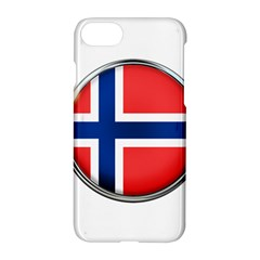 Norway Country Nation Blue Symbol Apple Iphone 7 Hardshell Case